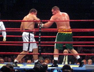 Kevin McBride - McBride (right) vs. Andrew Golota, 2007