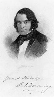 Andrew Jackson Downing American landscape designer & horticulturalist