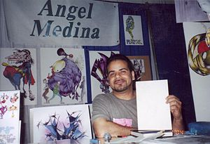 Angel Medina (artist) - Image: Angel Medina