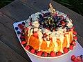 Angel food cake - Birthday cake.jpg