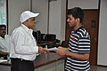 Anil Shrikrishna Manekar Presents Certificate to Participant - Orientation cum Selection Camp for XXI International Astronomy Olympiad - NCSM - Kolkata 2016-05-17 3814.JPG