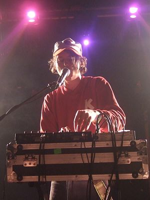 Person Pitch - Lennox performing with Animal Collective in 2007