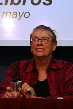 Annie Proulx Frankfurt Book Fair Conference 2009.jpg