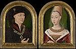 Anonymous - Philip the Good, Duke of Burgundy, Isabelle of Bourbon (^) - 1940.1146 - Art Institute of Chicago.jpg