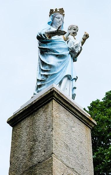 Notre Dame de L'Aillant, Anost, Département Saône-et-Loire, Bourgogne-Franche-Comté, France