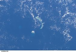 Skyview of Anphitrite Group and Woody Island