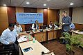 Anssi Ahlgrén with Dignitaries - Indo-Finnish-Thai Exhibit Development Workshop - NCSM - Kolkata 2014-11-24 9568.JPG