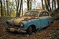 Antique car in forest.jpg