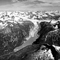 Antler Glacier, Broken Top, Crook Glacier, Valley Glacier and Calving Terminus, August 22, 1965 (GLACIERS 878).jpg