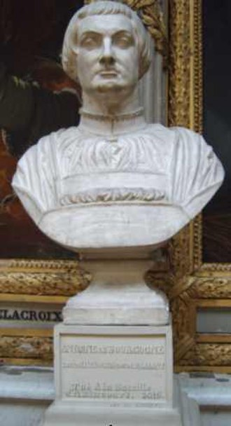Anthony, Duke of Brabant - A bust of Anthony in the Château de Versailles