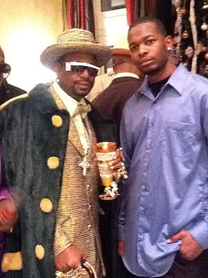 "Don ""Magic"" Juan - Image: Antonio with Bishop Don Juan"