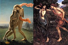 Apollo and Daphne vs The Death of Hyacinthos.jpg