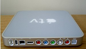 Digital media player - Back of 1st generation Apple TV