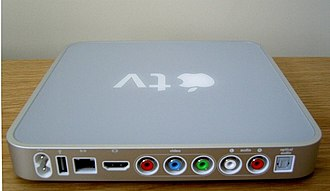 Apple TV - Back of 1st generation Apple TV