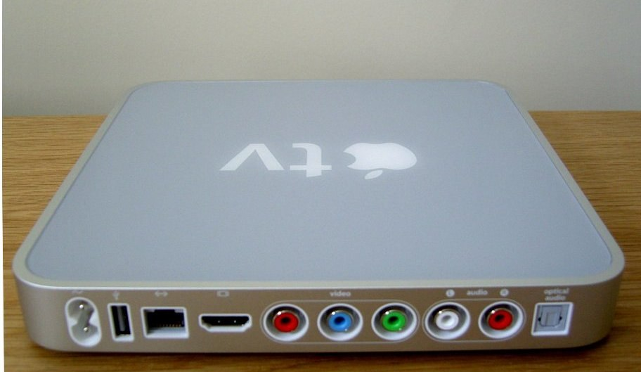 Apple TV back