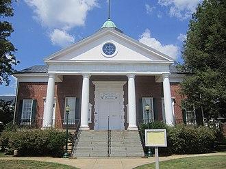 Appomattox, Virginia - The Appomattox Theater in July 2011.
