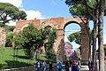 Aqua Claudia (Aqua Neroniana) - Via di San Gregorio - Rome, Italy - DSC01361.jpg