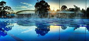 City of Manningham - Aquarena Aquatic and Leisure Centre located in Templestowe Lower, Victoria, Australia