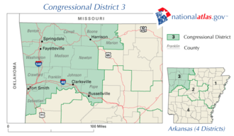 United States House of Representatives elections in Arkansas, 2006 - Image: Ar 03 109