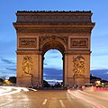 Arc de Triomphe at night.JPG