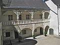 Arcaded courtyard Schloss Rogendorf at Pöggstall, Lower Austria.JPG