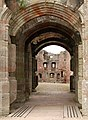 Archway into Pitched Stone Court, Raglan Castle - geograph.org.uk - 1531251.jpg