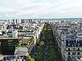 Arco do triunfo - vista champs elysees - panoramio.jpg