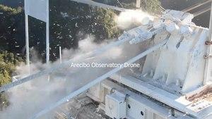 Archivo: Arecibo-collapse-drone.webm