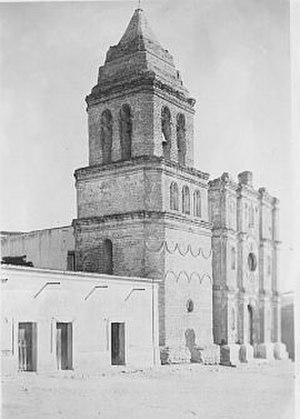 Juan Bautista de Anza - de Anza tomb site, Nuestra Señora de la Asunción de Arizpe