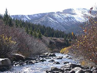 Quelle des Arkansas River bei Leadville (Colorado)