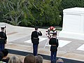 Arlington Salute Unknown Soldier.JPG