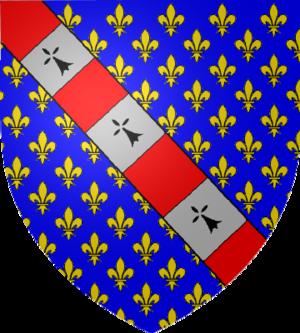 Charles d'Évreux - Coat of arms of Charles d'Évreux