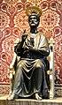 Arnolfo di cambio, Statua bronzea di san Pietro, xiii secolo 01.jpg