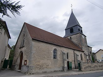 Arsonval - Image: Arsonval église 1