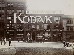 Clerkenwell - Kodak Building at 41-43 Clerkenwell Rd, London in 1902
