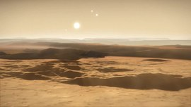 File:Artist's impression of the Gliese 667C system.webm