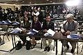 Asambleístas Paola Pabón, Gina Godoy, Jaime Abril y Carlos Velasco participan de la conferencia de prensa de la 128 Asamblea de la Unión Interparlamentaria (8576883623).jpg