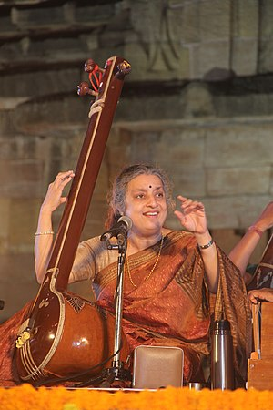 Ashwini Bhide-Deshpande - Ashwini Bhide-Deshpande Performing at Rajarani Music Festival-2016, Bhubaneswar, Odisha