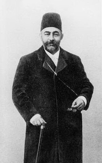 Haydar Khan Amo-oghli - Ali Asghar Khan the second Prime minister of Iran after Iranian Constitutional Revolution. He was assassinated in front of the Iranian Parliament on August 31, 1907, and this was masterminded by Haydar Khan e Amo-oghli.