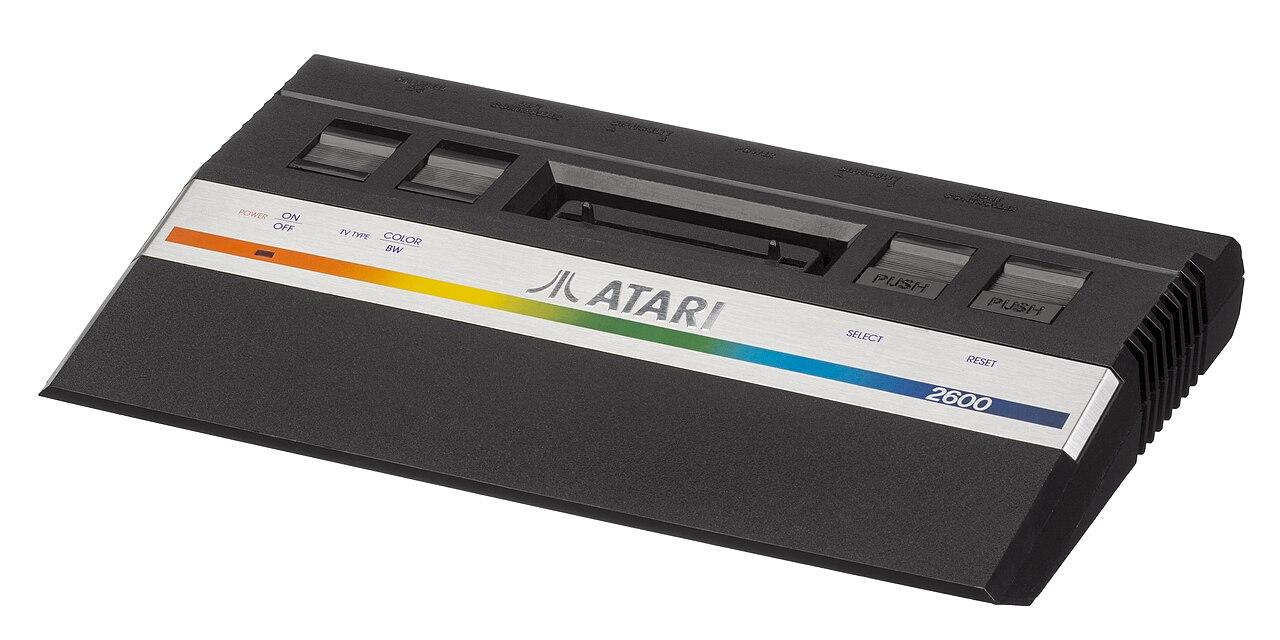 File atari 2600 jr wikipedia - Original atari game console ...