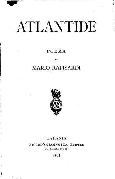 File:Atlantide (Mario Rapisardi).djvu