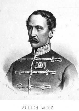 Minister of Defence (Hungary) - Image: Aulich Lajos 1