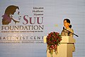 Aung San Suu Kyi at the Suu Foundation Launch (13037416393).jpg