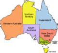 Australia locator-MJC coloured (labelled).png