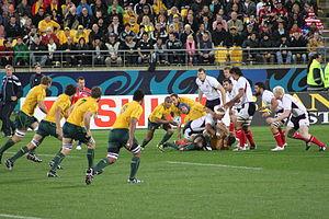 2011 Rugby World Cup Pool C - Match Australia vs USA