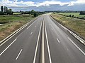Autoroute A406 vue depuis Pont Route D933 Crottet 5.jpg