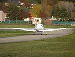 Avion non identifié - Aérodrome de Chambéry-Challes-les-Eaux, 2016.jpg