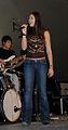 Ayla Brown on stage, 2010.jpg