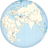 Azerbaijan on the globe (Afro-Eurasia centered).svg