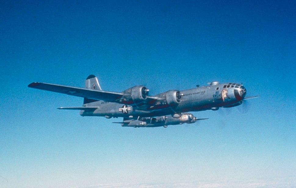 B-29s 19th Bomb Group over Korea 1950